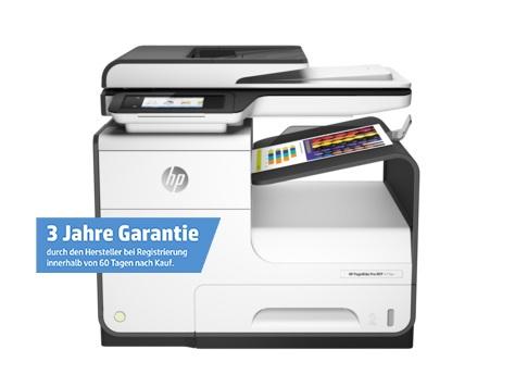 office-partner.de 90 Tage Geld-zurück-Garantie + 3 Jahre Herstellergarantie -> HP PageWide Pro 477dwt Tintenstrahl-Multifunktionsgerät W2Z53B (A4, 4-in-1, Drucker, Kopierer, Scanner, Fax, Duplex,WLAN