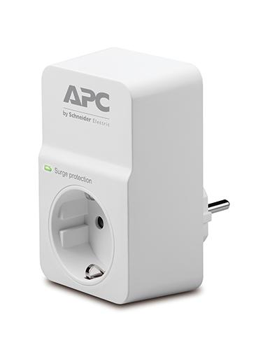 APC PM1W-GR Überspannungsschutz-Steckdose