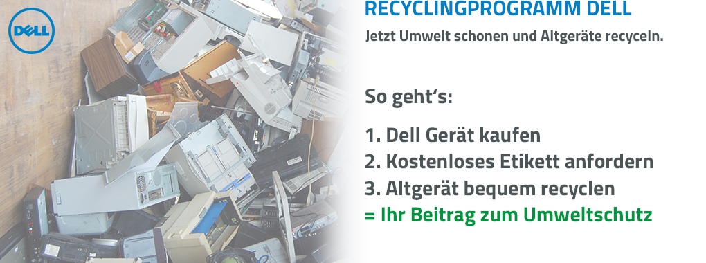 Recyclingprogramm Dell