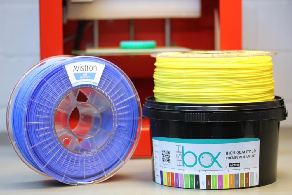 Fishbox mit Filamenten von Avistron
