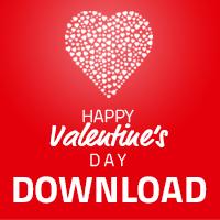 Valentinstagskarte1, Valentinstagskarte2, Valentinstagskarte3