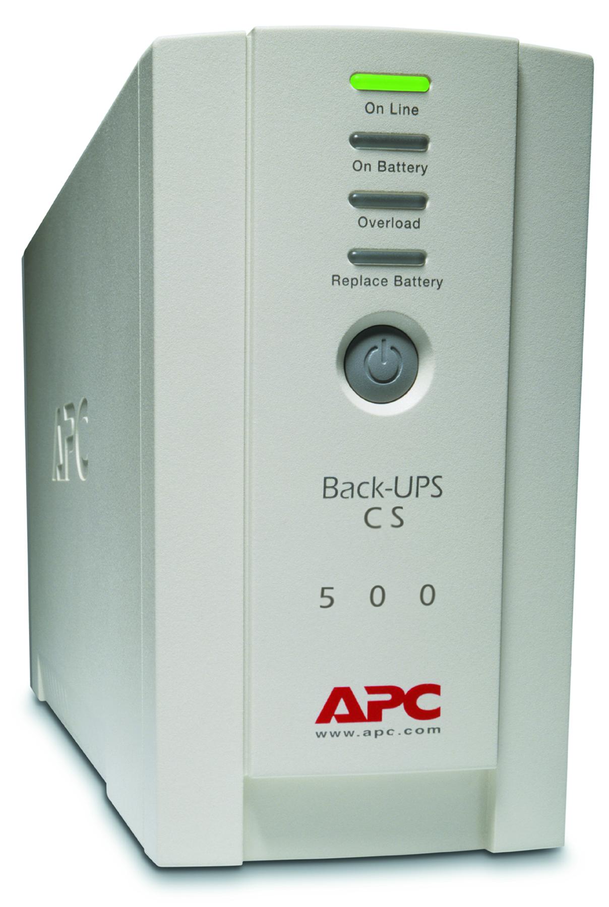 APC BK500EI Back-UPS CS 500VA